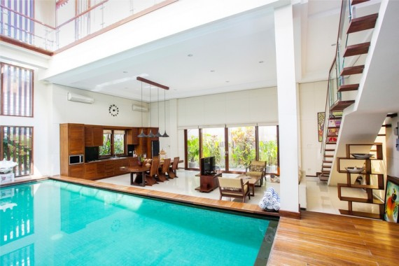 Aswattha Villas 3 Bedrooms Pool Villa - Indoor
